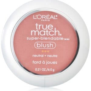 L'Oreal Paris True Match Super-Blendable Blush, Apricot Kiss, 0.21 oz.
